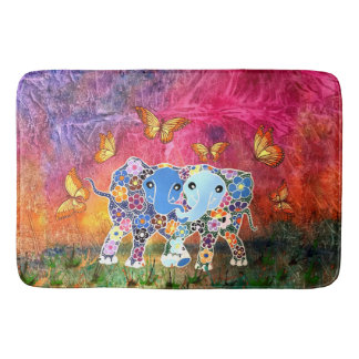 Dancing Elephants Bathmat