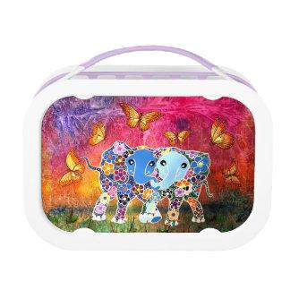 Dancing Elephants Lunch Box
