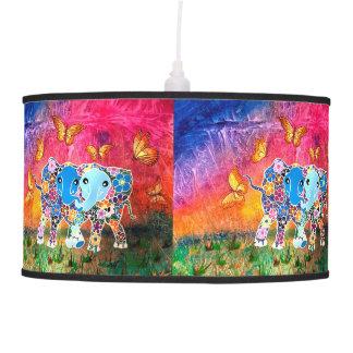 Dancing Elephants Pendant Lamp