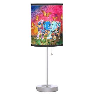 Dancing Elephants Table Lamp