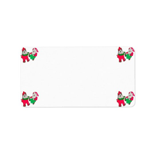 DANCING ELVES address labels