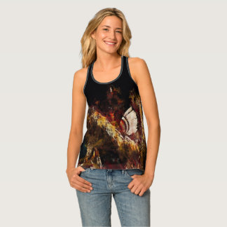Dancing Feathers Tank Top