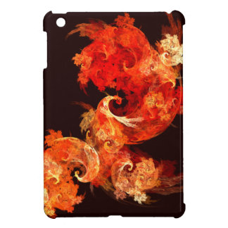 Dancing Firebirds Abstract Art iPad Mini Cover