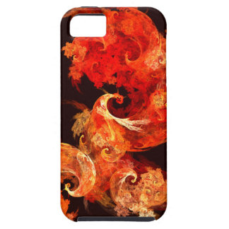 Dancing Firebirds Abstract Art iPhone 5 iPhone 5 Cover