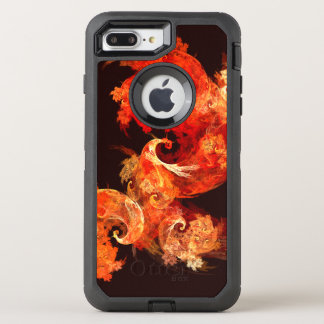 Dancing Firebirds Abstract Art OtterBox Defender iPhone 8 Plus/7 Plus Case