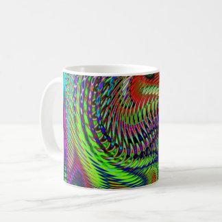 Dancing Fireworks Coffee Mug
