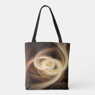 Dancing Flames All Over Print Tote