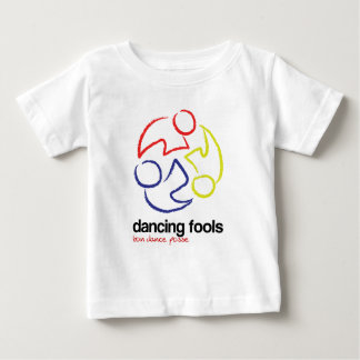Dancing Fools (logo only, light -- INFANT) Baby T-Shirt