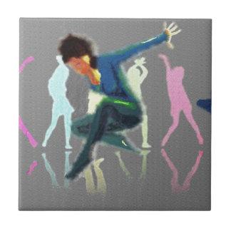 Dancing for Joy Art Ceramic Tile