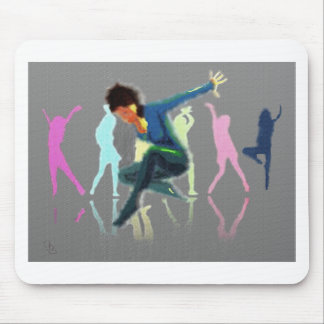Dancing for Joy Art Mouse Pad