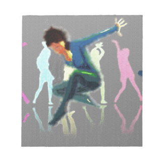 Dancing for Joy Art Notepads