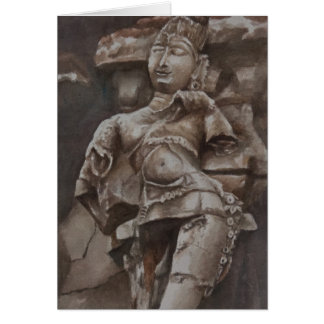 Dancing for the gods, Gingee Fort Card