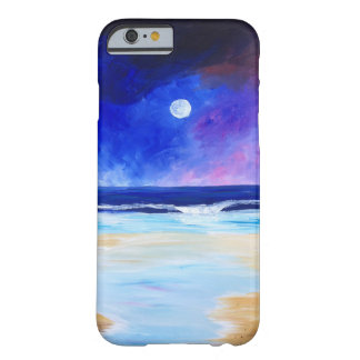 Dancing for the Moon reflective art statement Barely There iPhone 6 Case