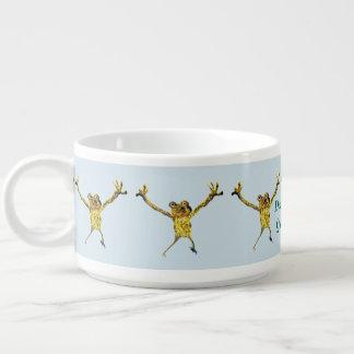 Dancing Frog Art Bowl
