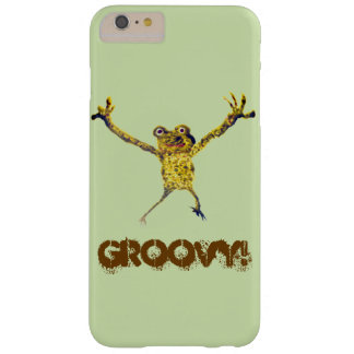 Dancing Frog Funny Animal Art Barely There iPhone 6 Plus Case