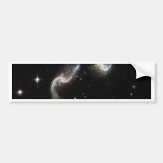 Dancing Galaxies Bumper Stickers