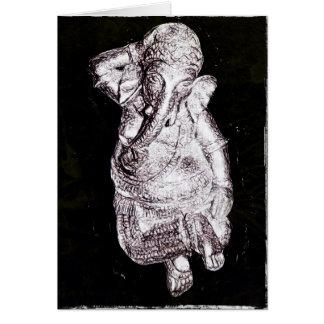 Dancing Ganesh Multipurpose Greeting Card