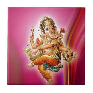 Dancing Ganesha Tile