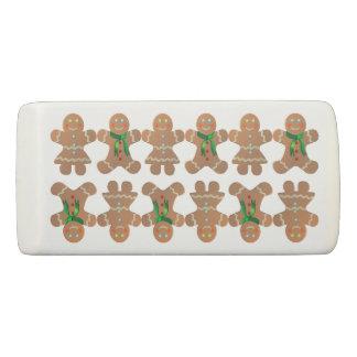 Dancing Gingerbread Cookies Eraser