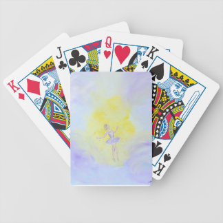 Dancing Girl Bicycle Playing Cards