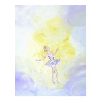 Dancing Girl Letterhead