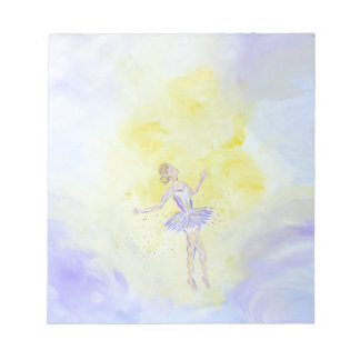 Dancing Girl Notepad