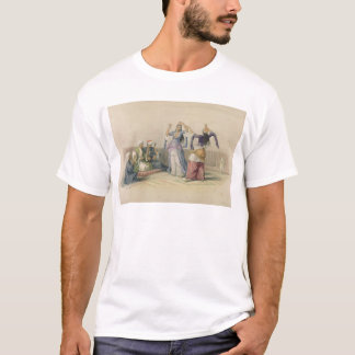 Dancing Girls at Cairo, from 'Egypt and Nubia' T-Shirt