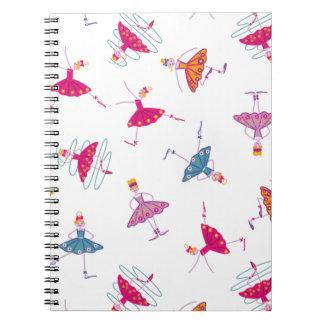 Dancing girls notebook