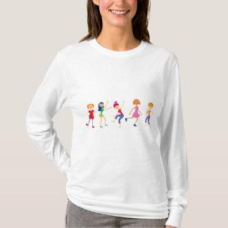 dancing-girls T-Shirt