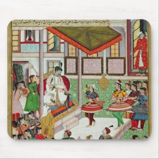 Dancing girls taken Baz Bahadur's palace at Malwa Mouse Pad