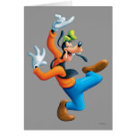 Dancing Goofy Greeting Card