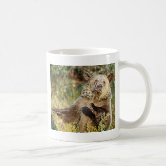Dancing Grizzly Bear Coffee Mug
