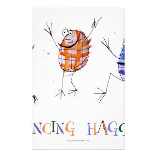 dancing haggis stationery