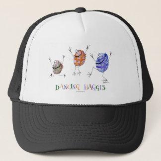 dancing haggis trucker hat
