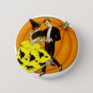 Dancing Halloween Couple 2 Inch Round Button