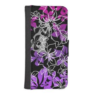 Dancing Hibiscus Hawaiian Blend iPhone SE/5/5s Wallet Case