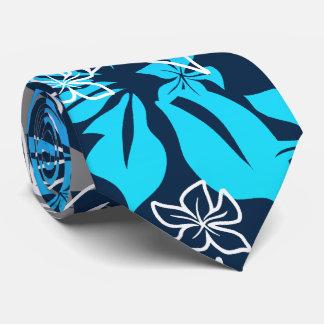 Dancing Hibiscus Hawaiian Necktie