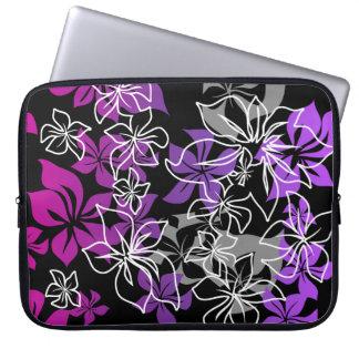 Dancing Hibiscus Hawaiian Neoprene Wetsuit Laptop Sleeve