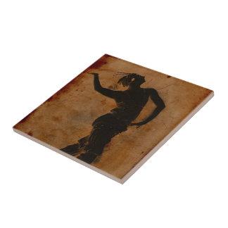 Dancing in Greek Ceramic Tiles