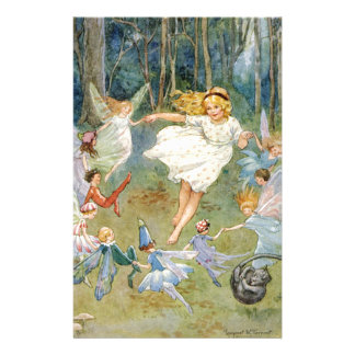 Dancing in the Fairy Ring Custom Stationery