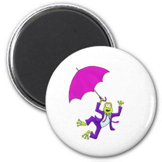 Dancing in the Rain Frog Magnet
