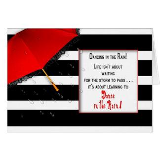 Dancing in the Rain Mug -  Encouragement Card