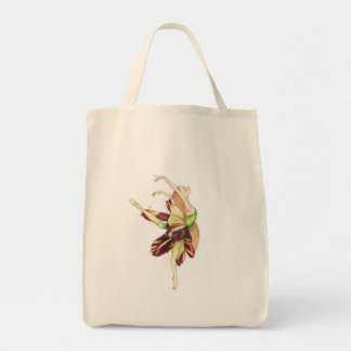 Dancing into light tote bag