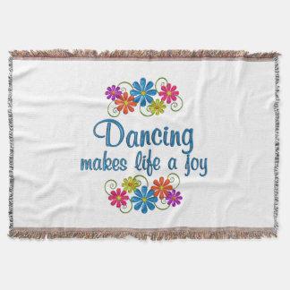 Dancing Joy Throw Blanket