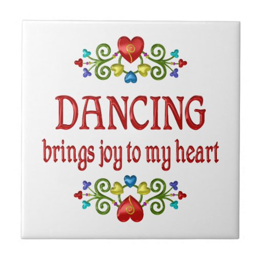 Dancing Joy Tile