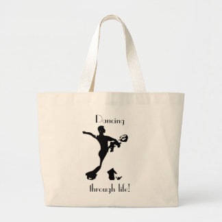 Dancing Jumbo Tote - Natural