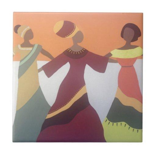 Dancing Ladies Tiles