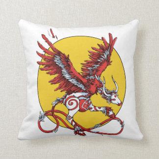 Dancing Ladybird Throw Pillow