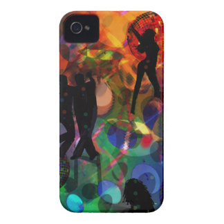 Dancing light , celebration party iPhone 4 cover