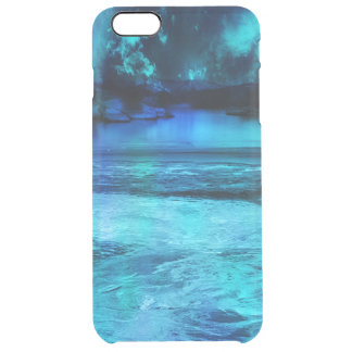 Dancing Lights Clear iPhone 6 Plus Case